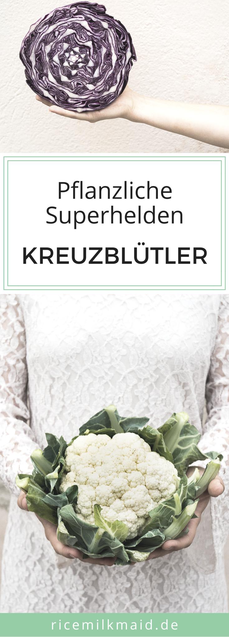 Lerne die pflanzlichen Superhelden kennen: Kreuzblütler. Was sie können, wie du sie am besten zubereitest und in welcher Saison du sie am besten kaufst, findest du jetzt auf dem Ricemilkmaid Blog. Klick dich rüber und speichere dir direkt den Saisonkalender ab.
