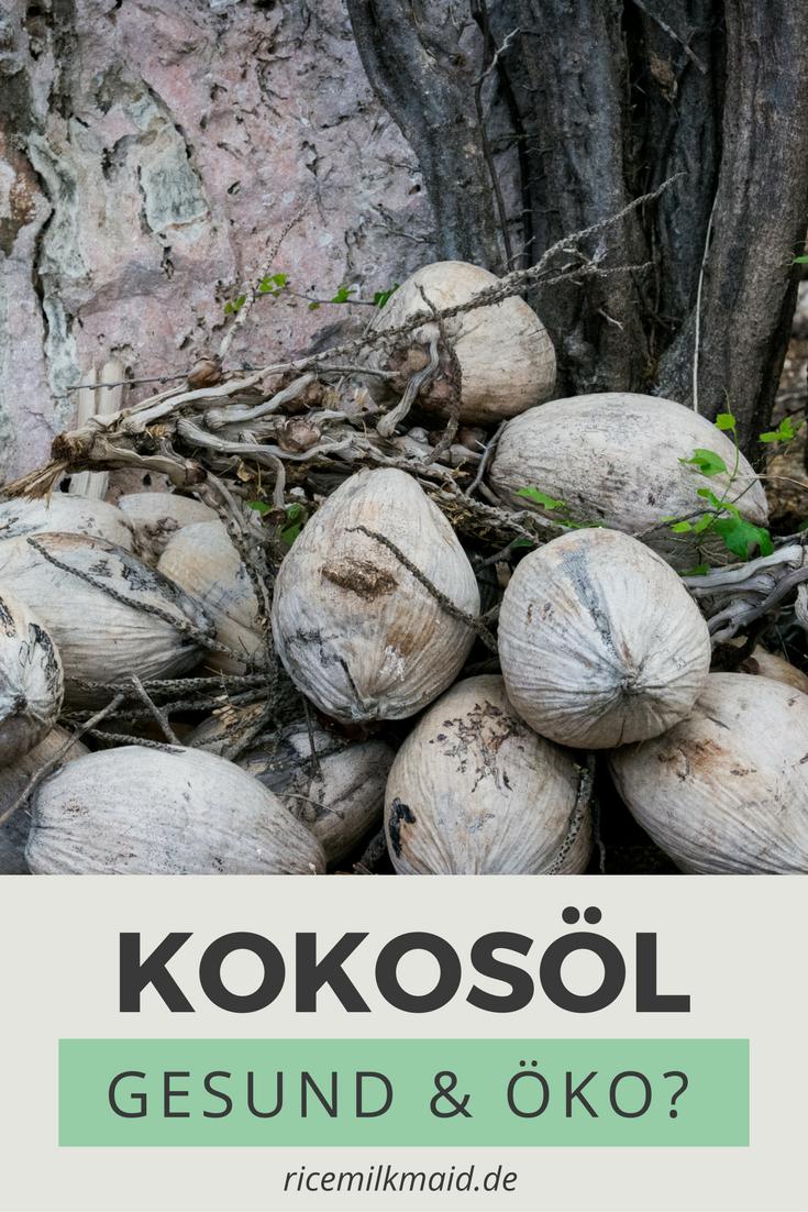 Kokosöl erfährt gradezu einen Hype: Zum Kochen, Backen, Cremen und Zähneputzen kommt es immer häufiger zum Einsatz. Doch ist Kokosöl überhaupt gesund? Wie erkennt man qualitativ hochwertiges Kokosöl? Und Ist Kokosöl ökologischer als Palmöl?