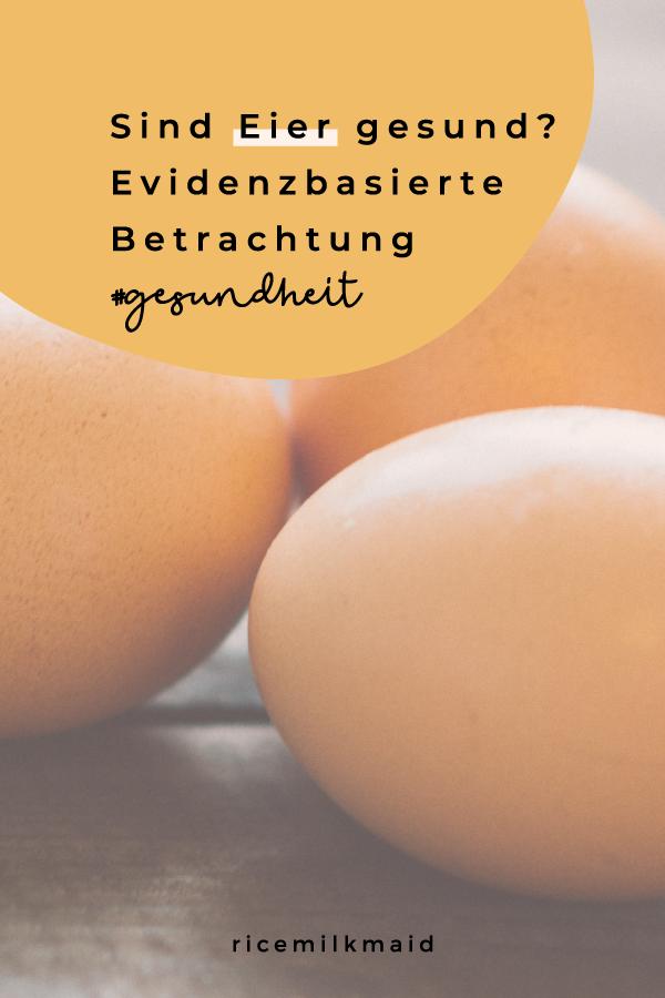 Sind Eier denn nun wirklich gesund? Von allen Seiten hört man andere Aussagen. Wir liefern evidenzbasierte Aussagen zum Thema Ei-Konsum. Klick dich zum Beitrag und lies den Beitrag!