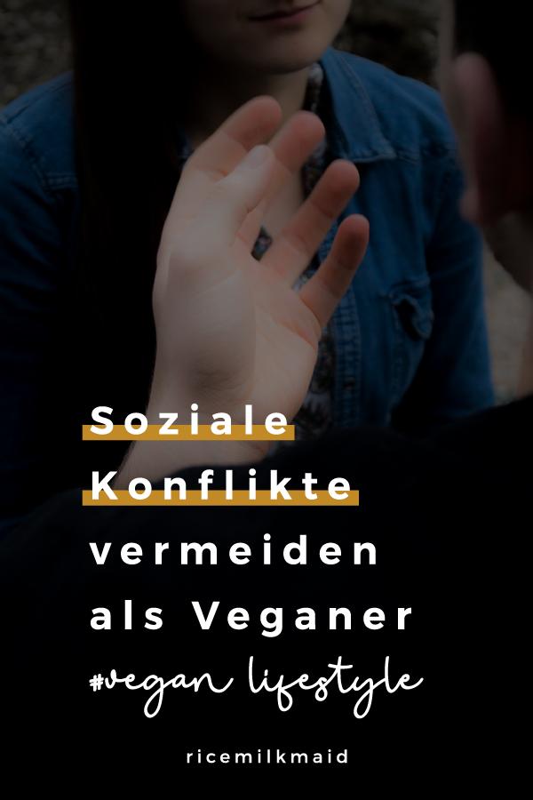 In diesem Beitrag gibt dir Mel 4 Tipps, um soziale Konflikte als Veganer zu vermeiden und eine positive Einstellung in Gesprächen mit anderen zu bewahren.
