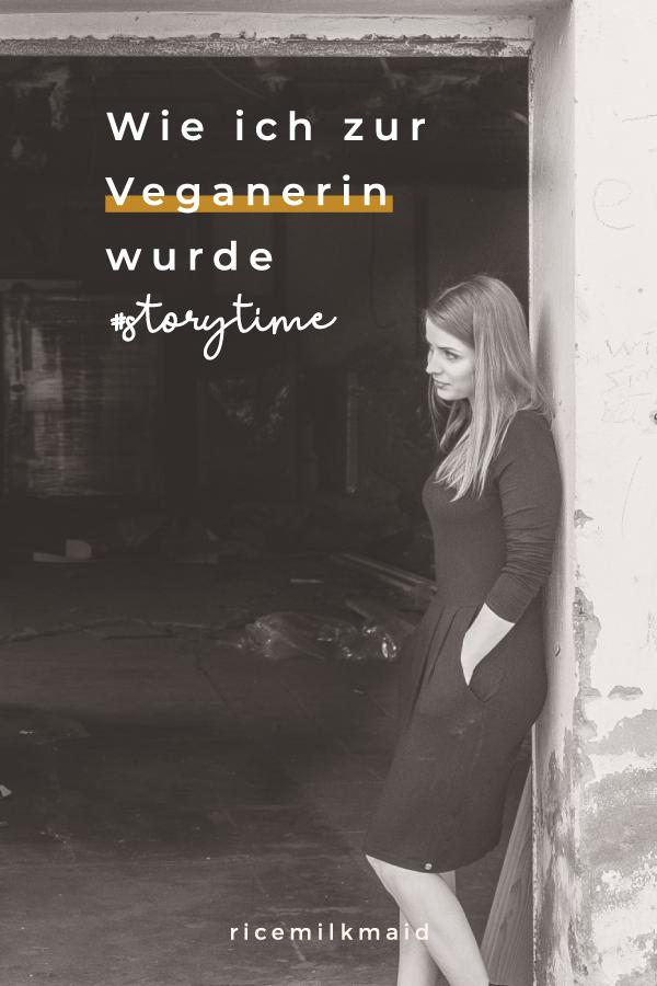 """Mein Umstieg zum Veganismus war lange und kräftezehrend. Doch heute weiß ich: Vegan werden war die beste Entscheidung, die ich treffen konnte. Klick dich zum Blog und erfahre mehr über meine Geschichte: """"Wie ich zur Veganerin wurde""""."""